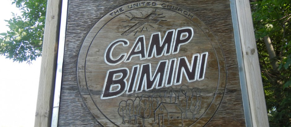 Camp Bimini sign