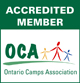OCA logo - Camp Bimini is an accredited member of the Ontario Camps Association